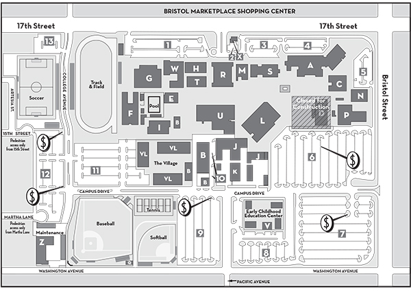 Santa Ana College Campus Map Interactive Maps