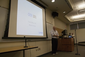 Dr. David Wiley Keynote Address OER 101