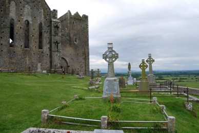 Rock of Cashel Cemetery - Ireland