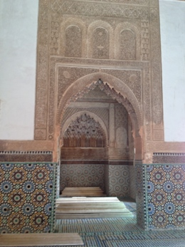 Tomb, Marrakesh, Morocco