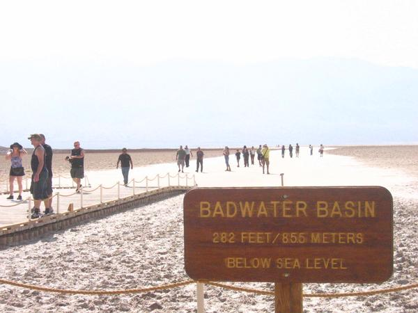 Field Trip Picture of Badwater Basin