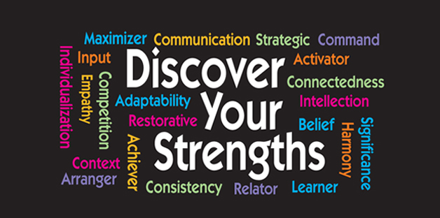 Discover Your Strengths word cloud