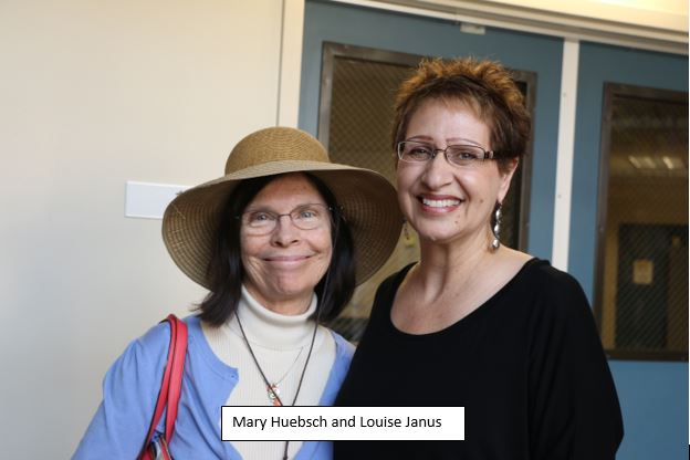 Mary Huebsch and Louise Janus