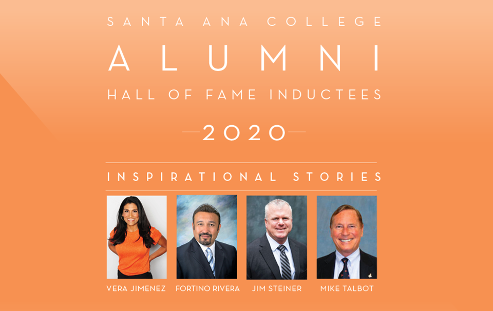 Santa Ana College Alumni hall of fame inductees