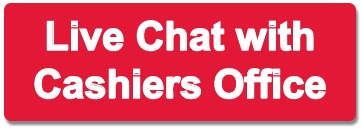 Live chat with Cashier's Office