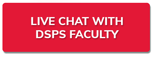 New tab to Live chat with DSPS Faculty